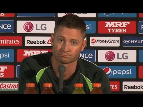 Michael Clarke Gets Emotional on his retirement