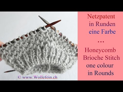 Knitting Brioche Stitch In The Round Comsar For