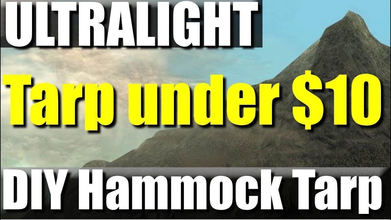 Hammock Rain Tarp Diy Diy Ultralight Hammock Tarp