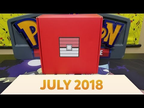 Pokecrate Box Opening and Review! | July 2018