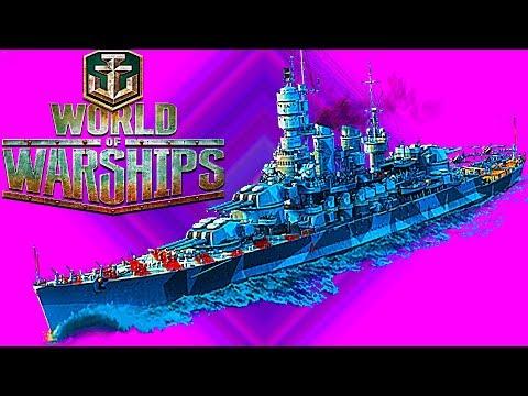 WORLD OF WARSHIPS как WORLD OF TANKS только корабли сражения на море много кораблей