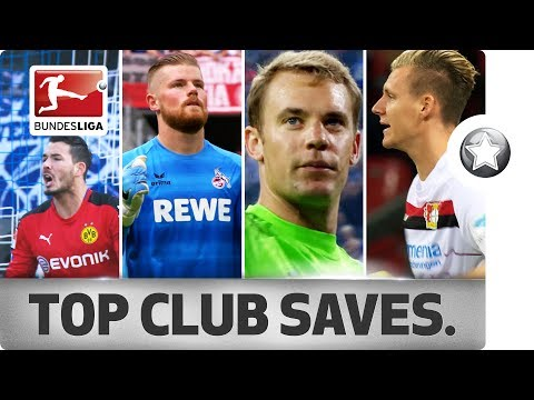 18 Clubs - 18 Saves - The Best Stop From Every Bundesliga Club in 2016/17 thumbnail