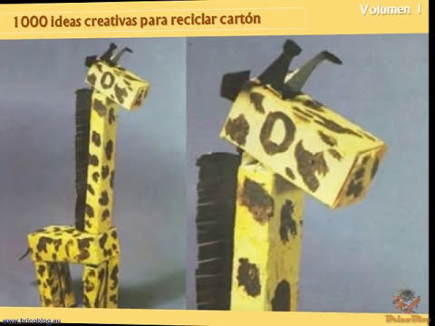 1000 ideas creativas para reciclar carton