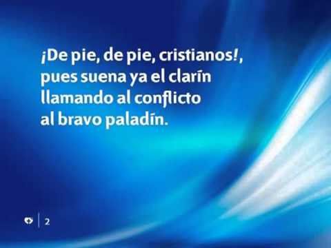 Himno 506 - ¡de Pie, De Pie, Cristianos! - Pista | Himnario Adventista Instrumental video