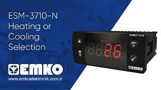 EMKO Elektronik ESM-3710-N Heating or Cooling Selection