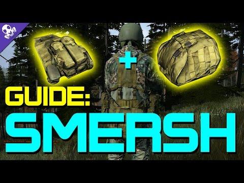 Smersh Vest & Backpack Guide | #DayZ Standalone 0.48