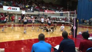 Volleyball Highlights - Dayton 3, VCU 1