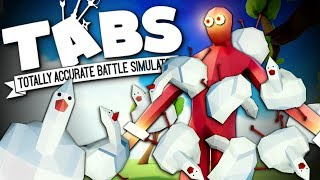 YOUR ARMIES vs MY CHICKENS - Viewer Matches - Totally Accurate Battle Simulator (TABS)