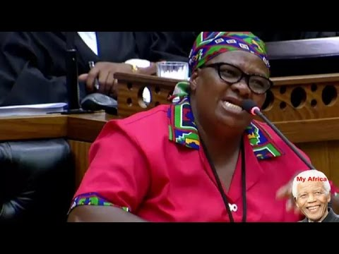 Jacob Zuma Is A Killer And A Thief - EFF Honorable Sonti