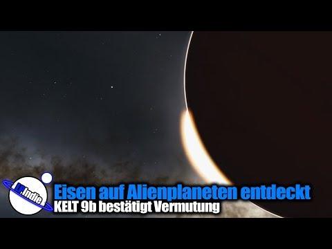 Eisen auf Alienplanet nachgewiesen