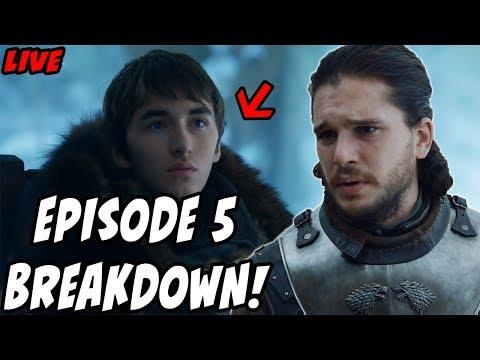 Game Of Thrones Season 7 Breakdown Episode 5 East Live