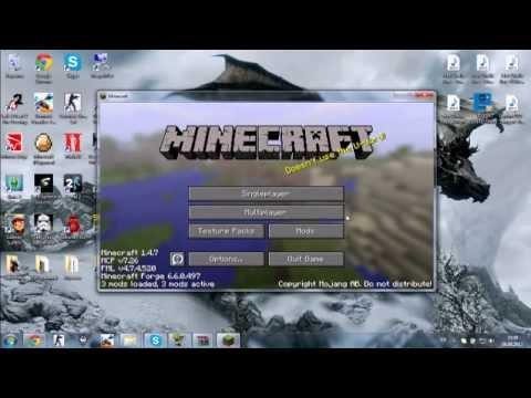Как открыть папку App Data и установить моды на Minecraft 1.5.2! [Установка]