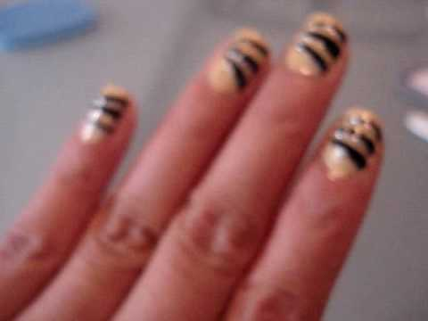 Tiger stripes nail designs images tiger stripes nail designs tiger stripe nail art tiger stripe nail art source abuse report prinsesfo Choice Image