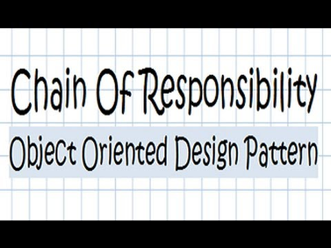 Talk:Chain-of-responsibility pattern - Wikipedia, the free