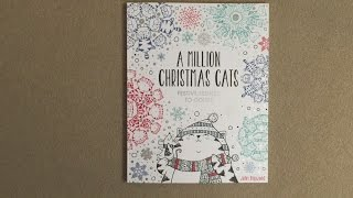 A Million Christmas Cats Flip Through