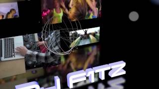 DJ F1tz: Motion 5 3D Intro