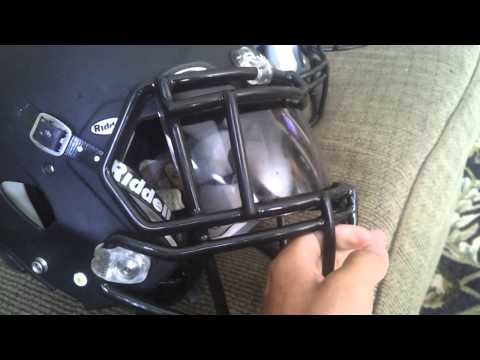 Tripple brooks revo speed facemask with smokevisor
