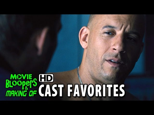 Furious 7 (2015) Cast Favorites - Vin Diesel Favorite Franchise Moment