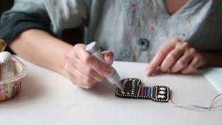 Милосердное рукоделие: техника point-to-point