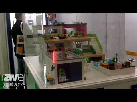 ISE 2017: ekey Demos ekey multi Smart Home Technology