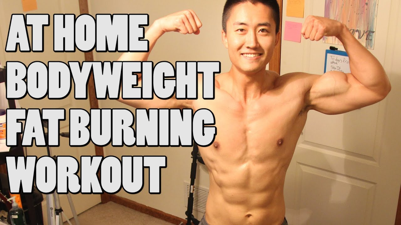 Minute at home workout for men no weights inferno