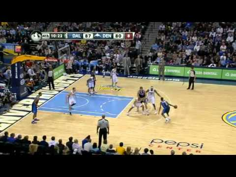 NBA Dallas Mavericks Vs Denver Nuggets  Highlights Feb 8, 2012 Game Recap