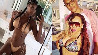 """Bernice Burgos  GOES OFF on Tiny for throwing shade at her online~""""Iv'e NEVER been a Pass Around"""""""