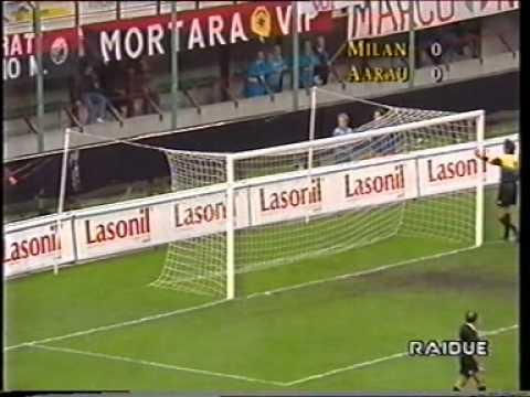 Milan – Aarau 0-0 1°t RITORNO CL1993/94 (sintesi)
