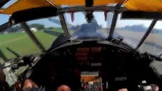 Antonov An-2 - Type rating flight (AWESOME SOUND!)