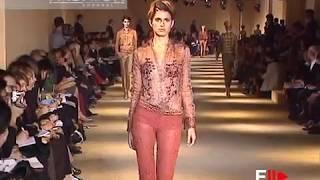 ROMEO GIGLI Spring Summer 2001 Paris - Fashion Channel