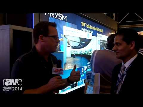 ISE 2014: Gary Kayye Interviews Prysm's Amit Jain About Collaborative Video Wall