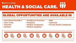 Career Opportunities - Health & Social Care Courses