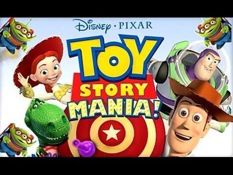Toy Story Mania - SVENSKA - kids film - kids movie - Woody - Buzz Lightyear (Trailer - Game Intro)