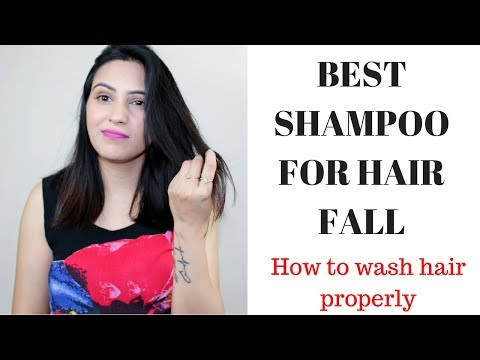 Best Shampoo For Hair Fall || How To Wash Hair Properly /गिरते बाल के लिए शैम्पू Personal Experience