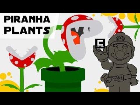Tips Tricks and Ideas with Piranha Plants in Super Mario Maker or Peach's Castle Garden