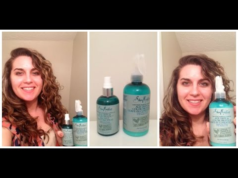 Second Day Hair Tutorial with NEW Zanzibar Marine Shea Moisture Line
