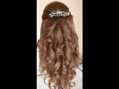 Prom Curls Hairstyles By Estherkinder YouTube