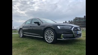 Driving & Talking The 2019 Audi A8 55 TFSI Quattro - What Do I Think (Look At That Tech)