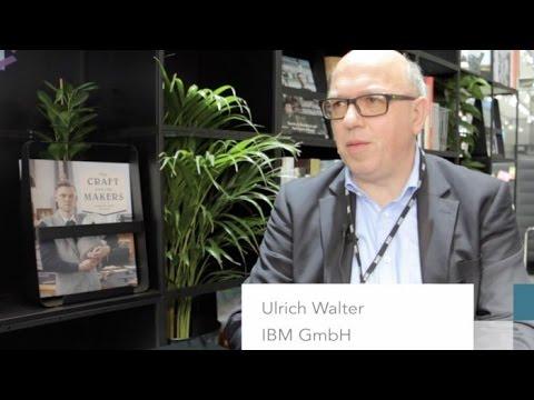 CeBIT 2017: Ulrich Walter von IBM spricht über Künstliche Intelligenz und IBM