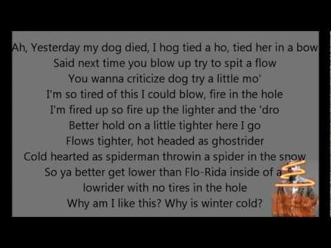 Eminem - On Fire lyrics [HD]