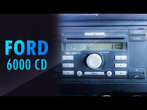 Ford cd 6000 unlock