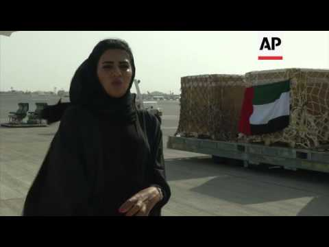 UAE continues to deliver aid to Gaza
