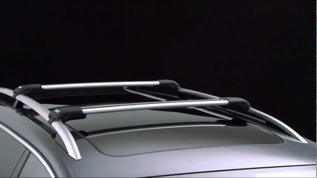 Car Roof Racks >> Roof Racks - Thule WingBar Edge 958x/Thule AeroBlade Edge 750x - YouTube