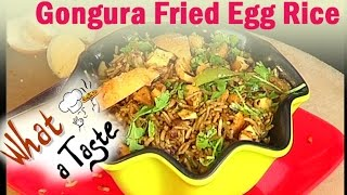 Gongura Fried Egg Rice Recipe || What A Taste || Vanitha TV