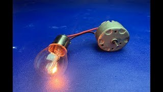 2019 Free Energy Generator 100% Self Running With DC Motor Using Wheel