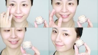 How to apply eye cream ♥ 每天正確塗眼霜