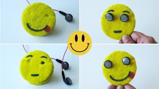 How To Make Emoji Earbuds Holder/Cord Keeper