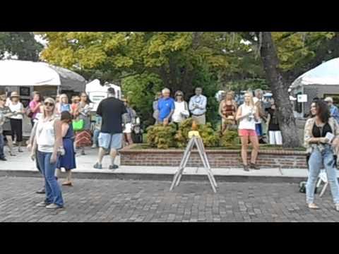 Central Florida Vocal Arts Flash Mob On Park Avenue, Winter Park