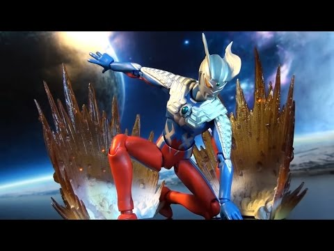 R320 Bandai Ultra-act Ultraman Zero Renewal 2.0 Review video