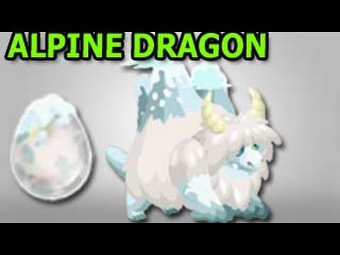 ALPINE DRAGON How To Get It in Dragon City by Breeding